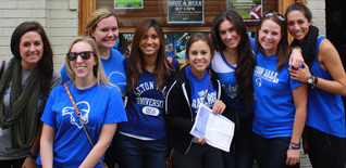 Former Seton Hall Students