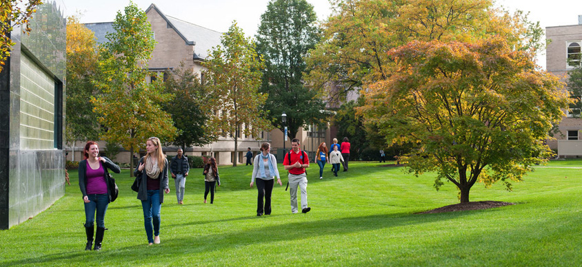 Seton Hall Campus in the Fall