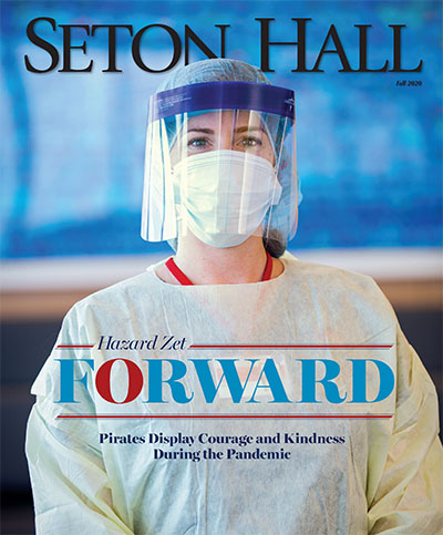 Seton Hall Magazine Cover Fall 2020