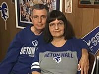 Daniel J. Gioseffi '73 with his wife, Roxanne