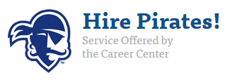 Hire Pirates! Service Offered by the Career Center