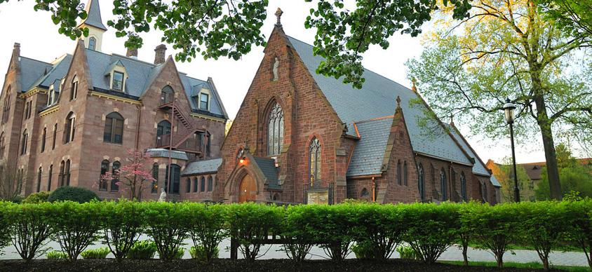 The Chapel and Presidents Hall at Seton Hall University