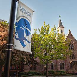 Seton Hall Campus Flag