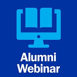Alumni Webinar Logo