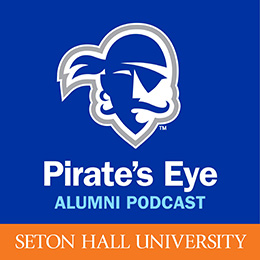 Pirate's Eye Alumni Podcast Logo